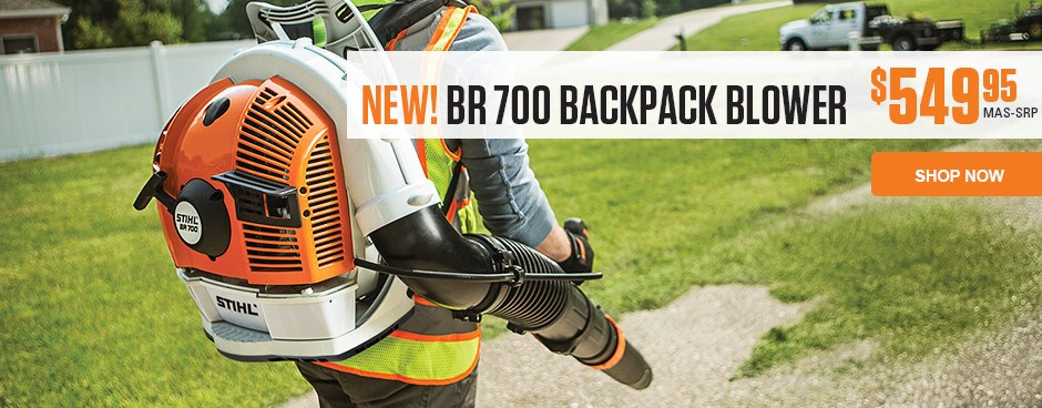 NEW! BR 700 Backpack Blower